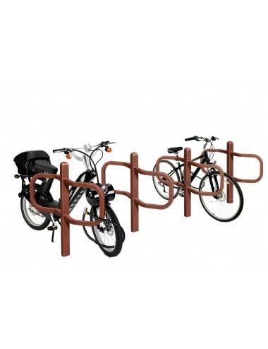 Stojak miejski na rower motor