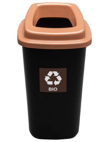 Pojemnik kosz na bioodpady 45L