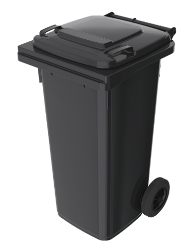 Pojemnik kosz na odpady 120 L
