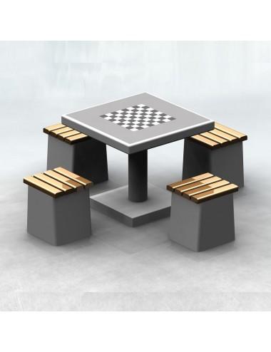 Stół betonowy do gry w...
