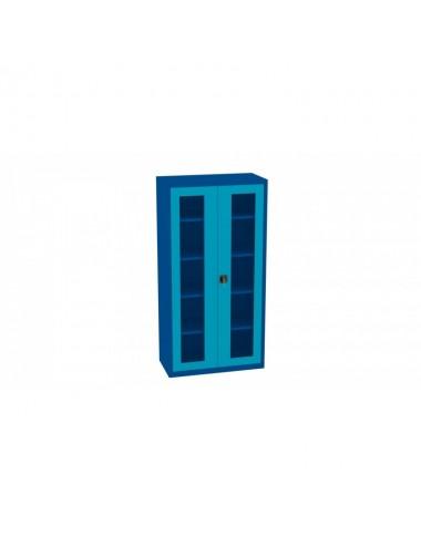 Szafa z drzwiami pleksi...