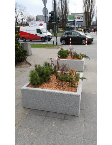 Donica kwadratowa betonowa...