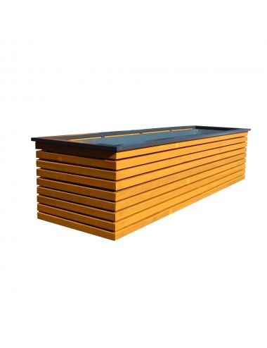 Donica drewniana 180cm