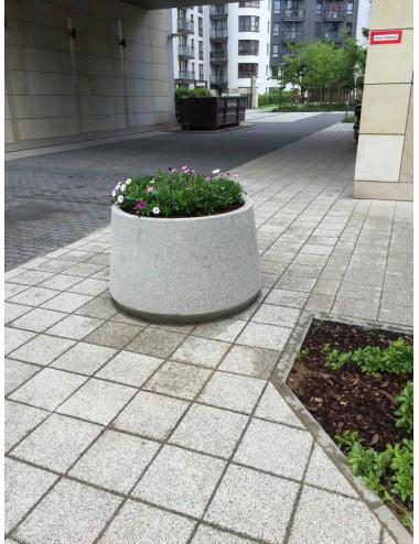 Donica okrągła betonowa...