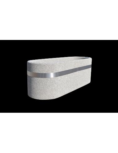 Donica betonowa owalna...
