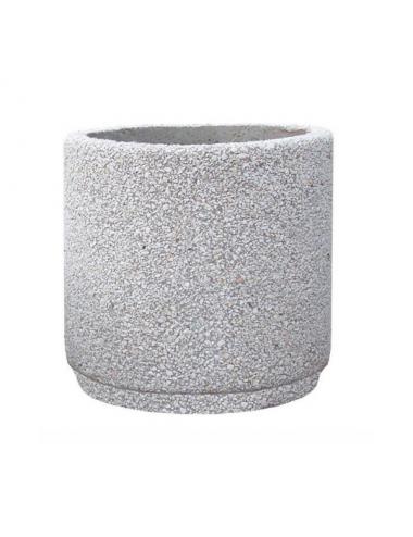 Donica betonowa okrągła 50x50
