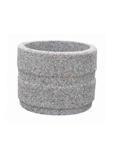 Donica betonowa okrągła 50x40