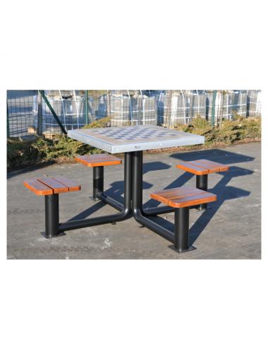 Metalowy stół do gry w...