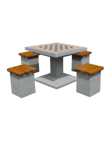 Betonowy stół do gry w...