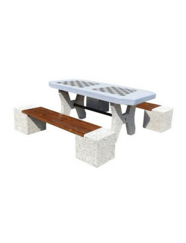 Stół rekreacyjny betonowy...