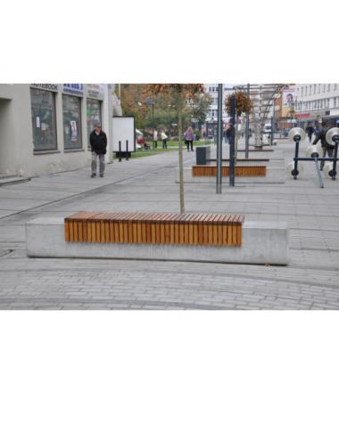 Ławka betonowa ogrodowa...