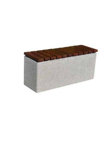 Ławka betonowa prostokątna...