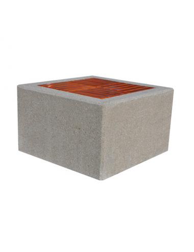 Ławka betonowa kwadratowa...